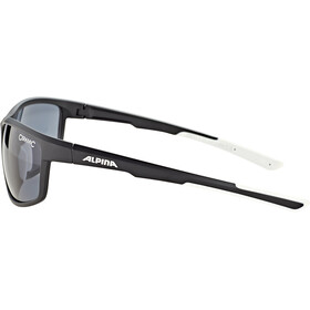 Alpina Defey Okulary, black matt-white/black